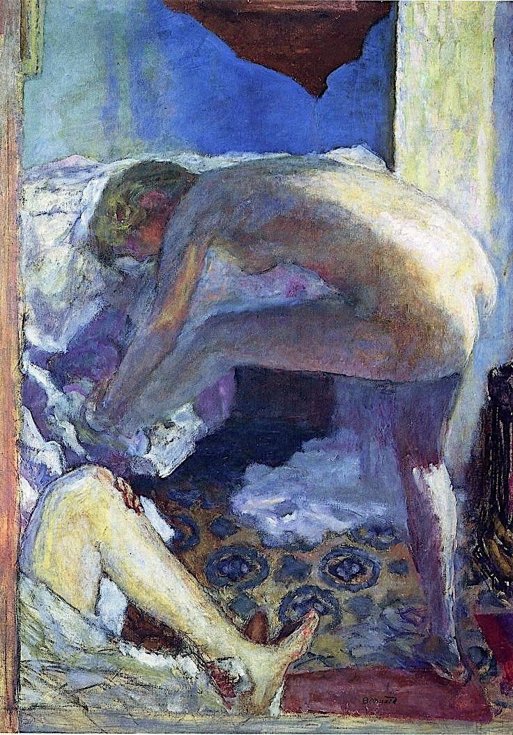 Pierre Bonnard, Le Grand Nu Bleu, 1924, Oil on canvas