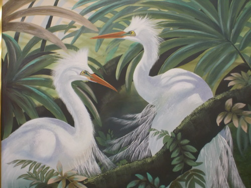 Saw this gorgeous roughly 4' x 5' painting for sale today. I r-egret not being able to get it.