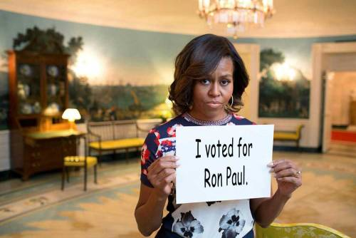 PSA from the First Lady.