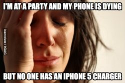 9gag:  The worst part about having an iPhone 5.