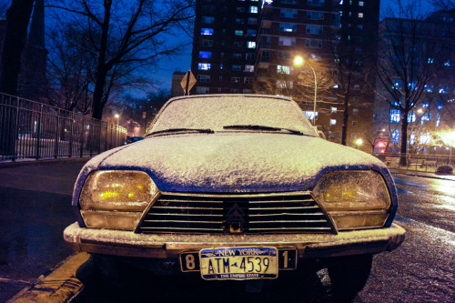 Citroen GS  New York :: December 29, 2012