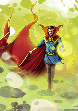 xombiedirge:  Dr. Strange by Carsten Biernat / Website / Blog