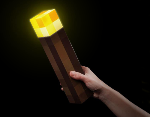 Minecraft torchlight Interieurgeek
