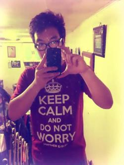 Keep calm and do not worry.
