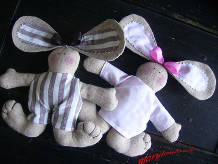 another bunny rabbit stuffed animal toy tutorial
