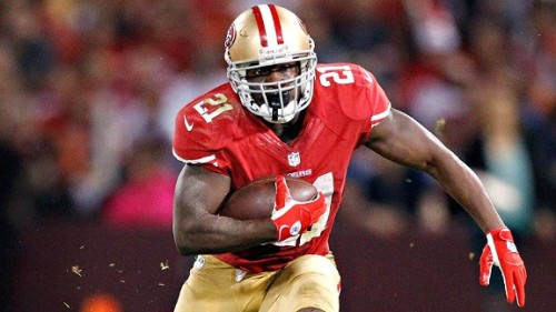 Congratulations to Frank Gore and the San Francisco 49ers on advancing to the NFC Championship Game!