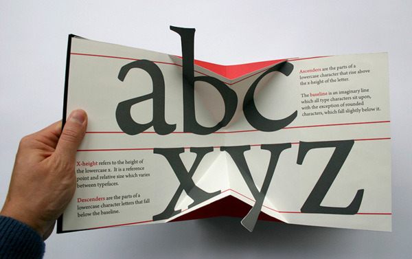 goodtypography:   Kevin Steele has created The Movable Book of Letterforms