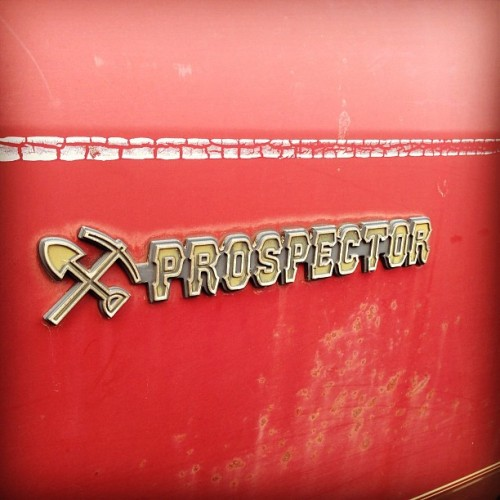Found this adorable dodge yesterday. #ram #dodge #prospector #pickup (at Mystic, CT)
