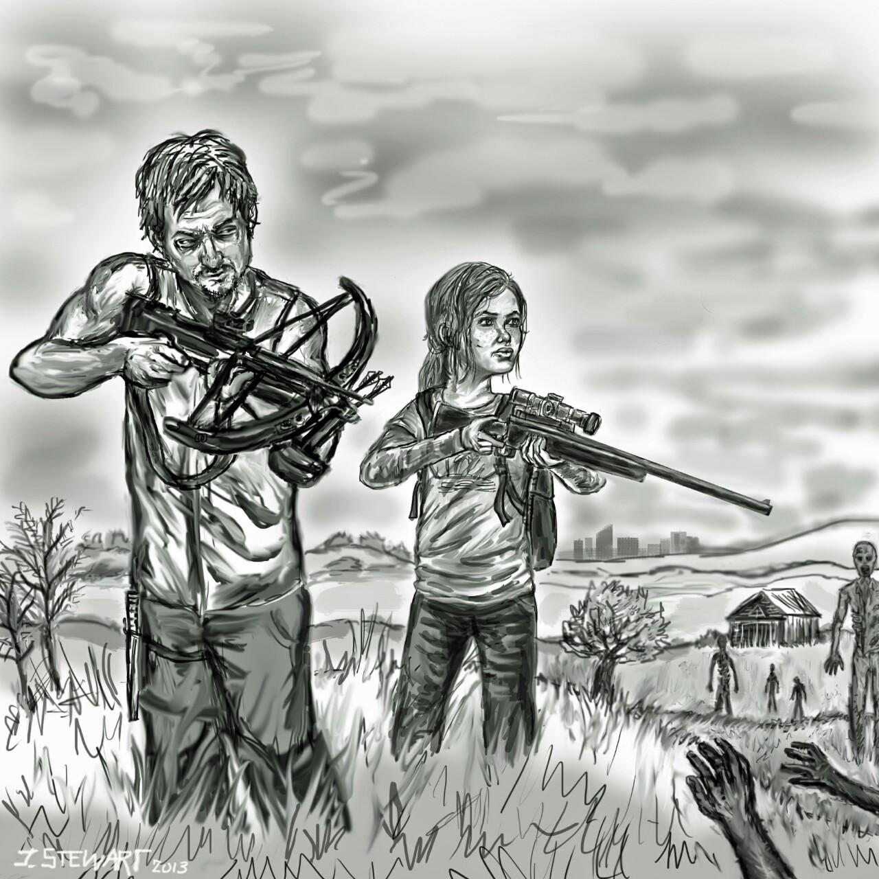 """The Last of Us Walking"" by - J.R. Stewart"