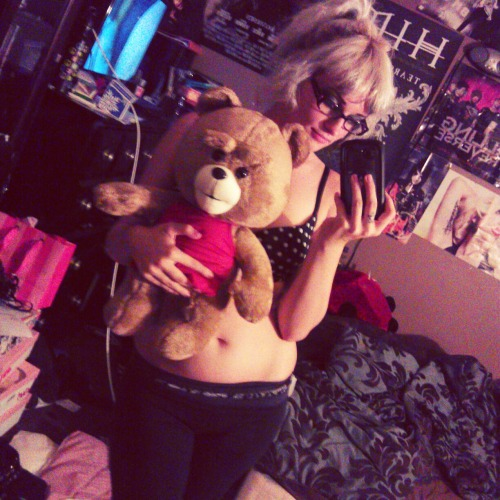 mindless-self-destruction:  I got TED in the mail today (:
