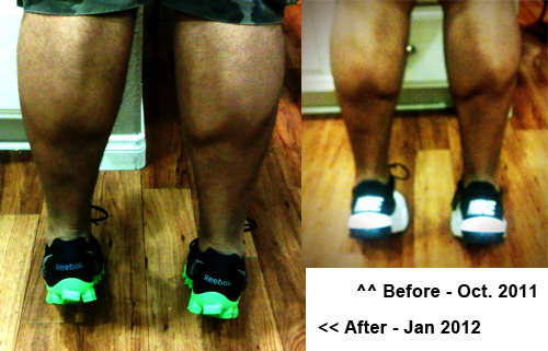 jacobgetsfit:  Calf Progress (bulk): Again getting rid of my progress page and just posting these under pics of me.