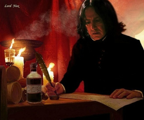 everythingalanrickman:  The wonderful, very special Severus Snape. Words can not describe my feelings for this much loved character of all time.