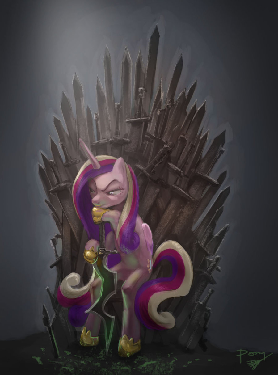 ponycrossovers:  Game of Thrones!