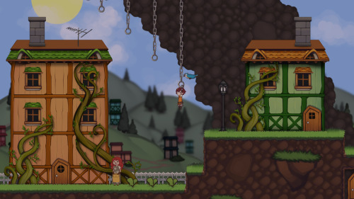 - from Treasure Adventure World (Robit Studios & Chucklefish, Release & Platforms Unknown)   Now, Robit Studios has teamed up with Chucklefish (Starbound, Wanderlust: Rebirth) to reimagine the world of Treasure Adventure Game with enhanced graphics, a smoother engine, more treasures, new puzzles and more. The result is Treasure Adventure World, a labor of love that will delight fans of classic gaming, adventure games and platformers as well as those who appreciate beautiful hand-drawn 2D art, or a story filled with mysteries, ancient demons and parrots.   Robit's Official tumblr Artist Christine Crossley's tumblr (via @pixelprospector)