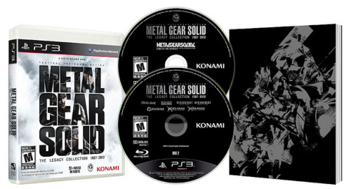 MGS: The Legacy Collection!!! Read more: http://www.flipgeeks.com/gaming/metal-gear-solid-the-legacy-collection-hits-ps3-this-july-details-are-now-out/