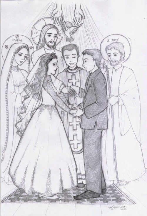 pfjappaco:  Holy Matrimony by ~fenixflower