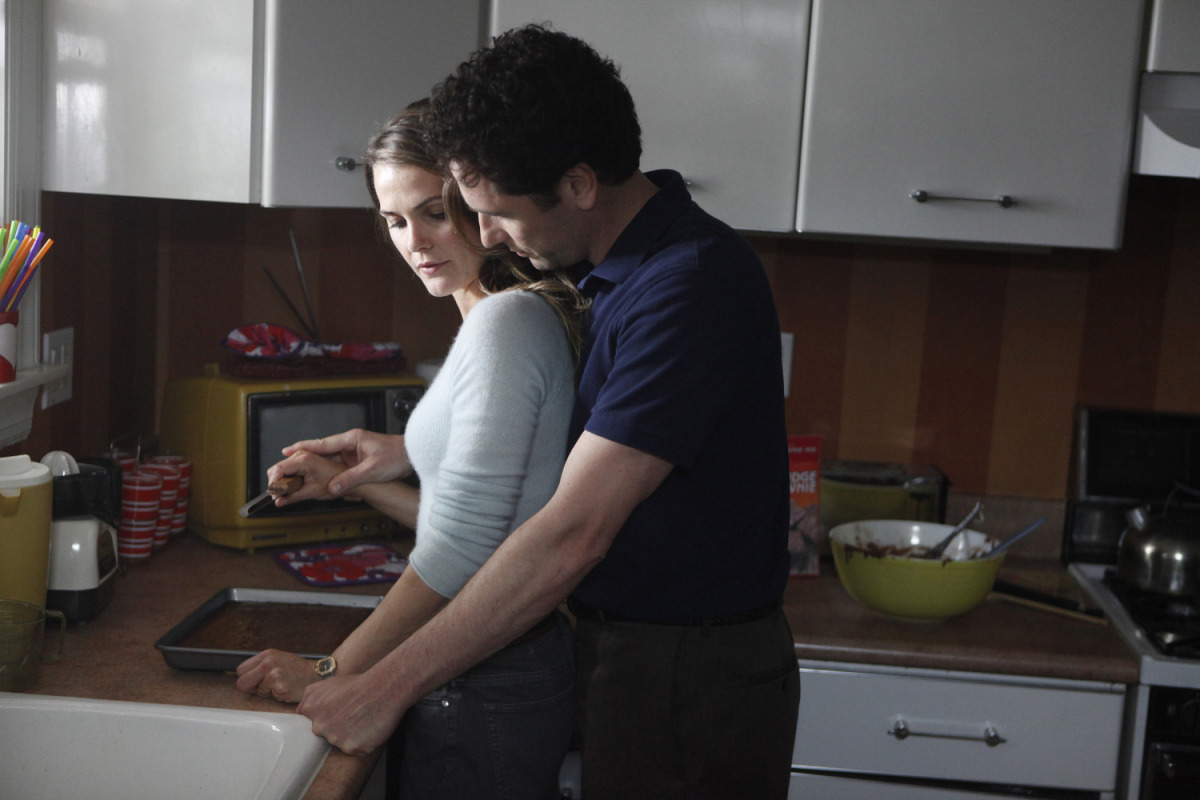 "The Americans is good—the pilot, at least. The bookend scenes both really bow to the altar of ""Tusk"" which I have always been a firm, staunch supporter of. There is no greater friend to the United States than ""Tusk"" by Fleetwood Mac. Furthermore, excellent conglomerate cast of white guys who scare me. Perfect use of Kerri Russel mind body spirit face all of her she is FELICITY. Lastly, 80s-chic style that's almost 60s-retro if 60s-retro existed in the 80s when they were making out in cars to ""In the Air Tonight"" (used well, and not ironically). So watch The Americans. It's going to out Homeland Homeland."