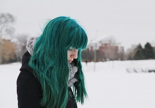 cinnamonhugsandblanketforts:  Hair Ideas / manic panic enchanted forest on We Heart It - http://weheartit.com/entry/55244155/via/joyfaithlove