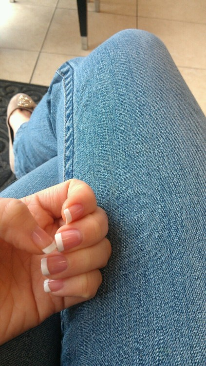 That moment after you get your nails done :D