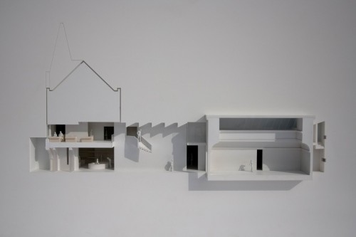 archisketchbook:  http://www.ewa.co.uk/project/mostyn-gallery Ellis Williams Architects. beautiful sectional model