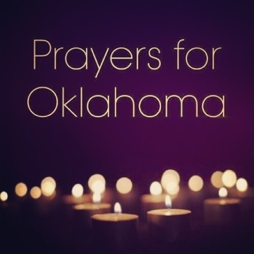 neeca:  Thoughts & prayers for all those affected by the tornadoes in Moore. 🙏💔