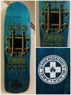 Deck of the Day | Emergency Black Label | John Lucero