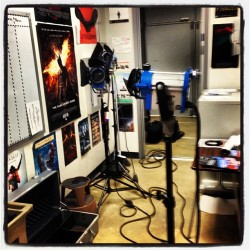 Doing inventory on the lights :) (at Miami Dade College School Of Entertainment And Design)