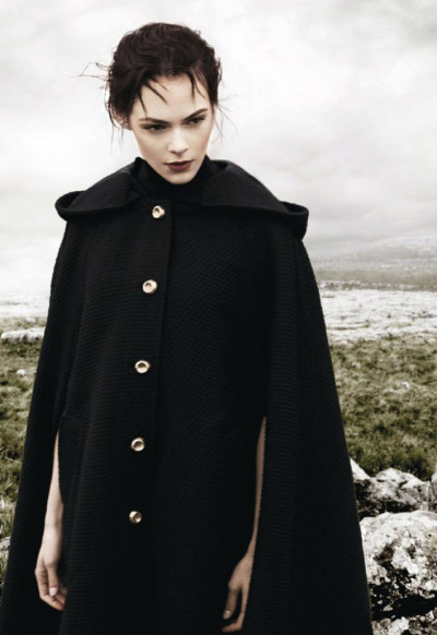 """Cumbres Borrascosas""Kinga Rajzak by Jason Kibbler for Vogue Spain January 2013"