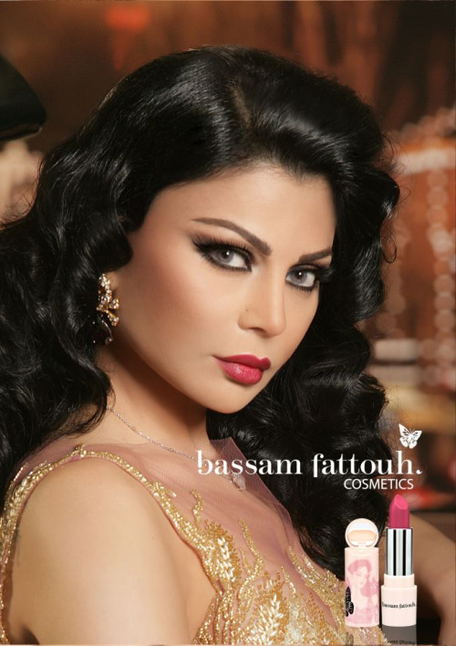 Check out my interview with celebrity makeup artist Bassam Fattouh, the artist behind this gorgeous look on Lebanese singer Haifa Wehbe here!
