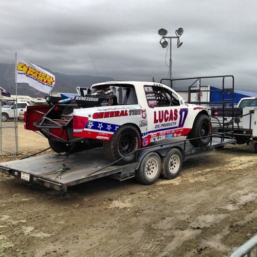 #LucasOil out in Lake Elsinore