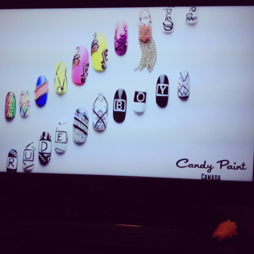Seeing my Candy Paint in the NAILgasm Doc makes me so happy!! 💅😁