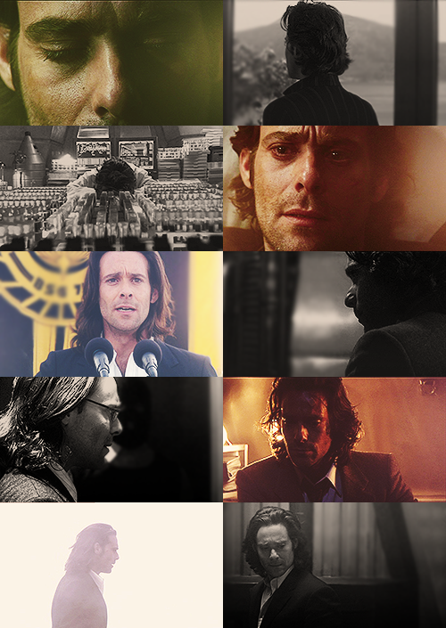 helenacains:  fangirl challenge: 5 male characters  [4/5] - Gaius Baltar (Battlestar Galactica)  Struck a nerve, have I? Which I find rather impossible to believe! You think this is over? This is not over! You have not heard the last! No more Mr. Nice Gaius!