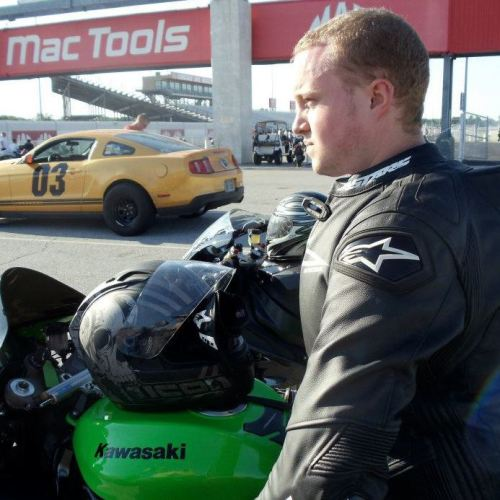 Me at Indy last summer waiting for a test and tune run before race day for NHDRO. Looking forward to more races this summer!