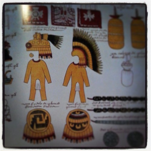Aztec fashion tips.