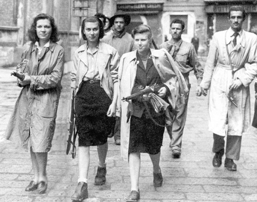 thepleatherprinciple:  Members of the French Resistance.