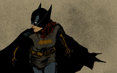 gailsimone:   midnightrainbow13:   The Batgirl by ~clayrodery   This is an exceptional piece of work, moody and compelling!   GAIL SIMONE TALKED ABOUT MY WORK WAAAAAAT Thanks Gail!