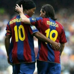 The Legends #10 #messi #ronaldinho #brazil #brasil #argentina #barca #barcelona #football #hypebeast #highsnobiety #karmaloop #swag