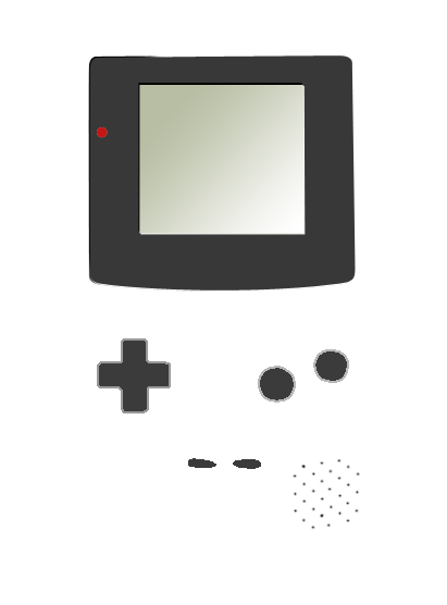 totallytransparent:  Semi Transparent Minimalistic Gameboy Colour (matches colour of your blog - drag it!)Made by Totally Transparent    my blog is white, ddammit