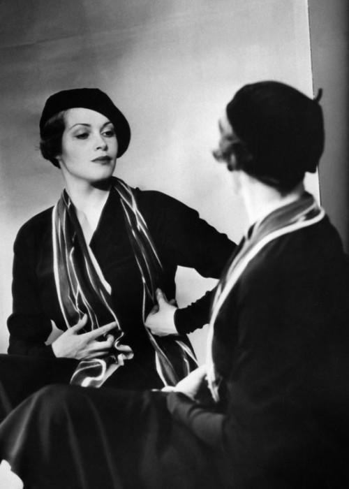 Sybille Shmitz, 1934 by Yva