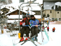 The boyfriend and I in Livigno <3