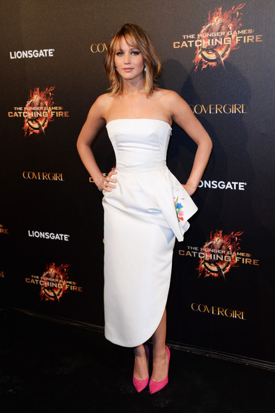 Jennifer Lawrence attends The Hunger Games: Catching Fire Party during the 66th Annual Cannes Film Festival at Baoli Beach in Cannes, France. [May 18th, 2013]