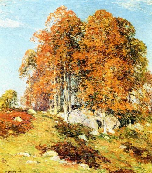 Early october 1906, Artist: Willard Metcalf, oil painting