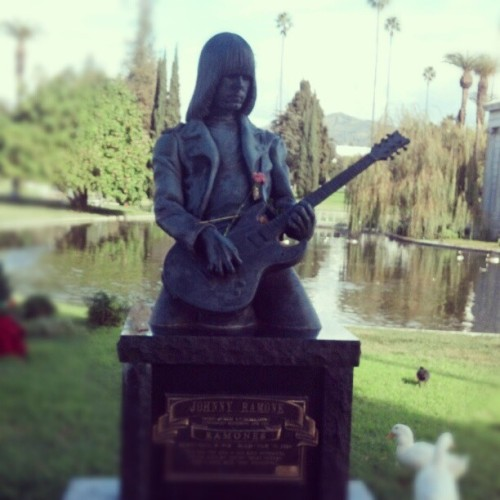 Johnny Ramone's final gig @ Hollywood 4ever