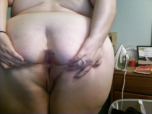 Big fat ssbbw ass spread