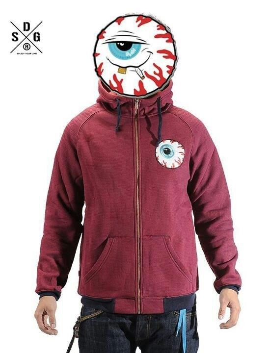 【 Mishka】 Keep Watch Striped Zip-Up Hoodie  #Mishka #Mishkataiwan  SDG奇摩購物網 http://tw.page.bid.yahoo.com/tw/auction/1241575310?u=Y6336852975