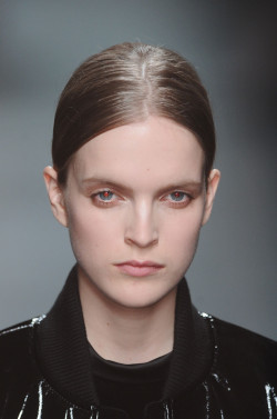 mariah-do-not-care-y:  Mirte Maas at Givenchy Fall 2011