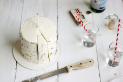 Lemon Poppy Seed Cake with Lemon Cream Cheese Frosting by julie marie craig on Flickr.