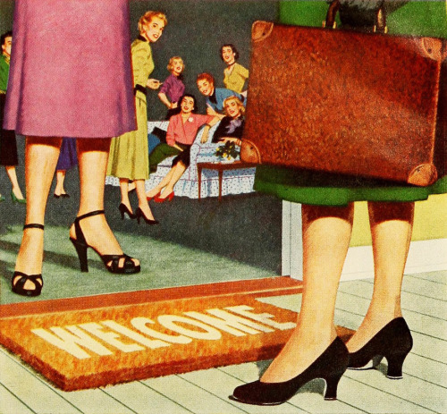 stanley hostess parties 1953 (by Captain Geoffrey Spaulding)