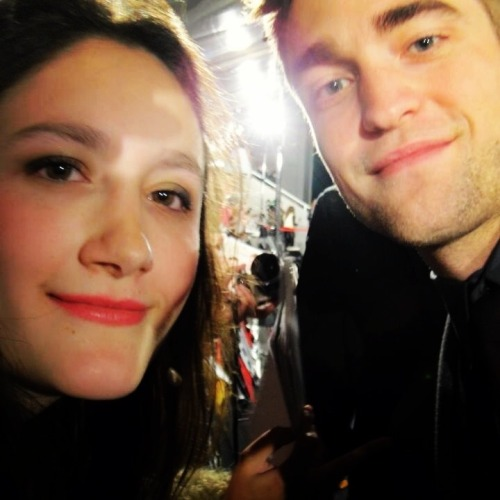 New/Old FanPic of Rob from the Madrid Breaking Dawn Part 2 Premiere Source: Karla ValenzuelaView Post
