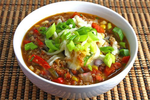 Raw Tomato Chili with Taco Nut Meat
